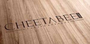 Cheetabee wood logo