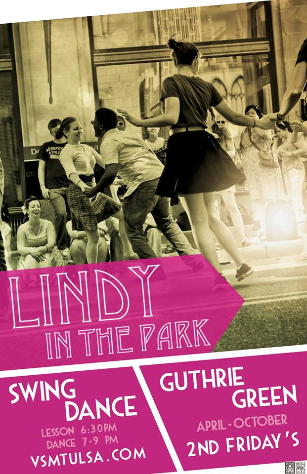 Lindy hop in Tulsa, Vintage Swing Movement, Greenwood Swingout, Lindy hop workshops in Tulsa
