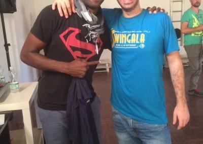 Jamin Jackson and Ilario